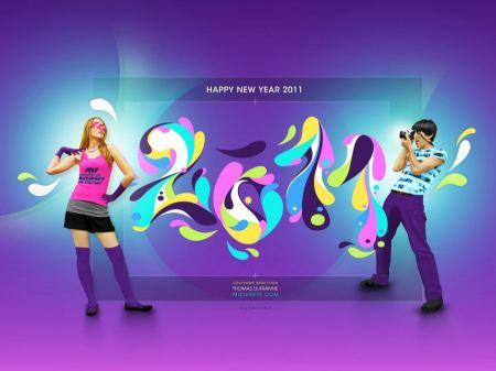 Free Happy New Year 2011 HD