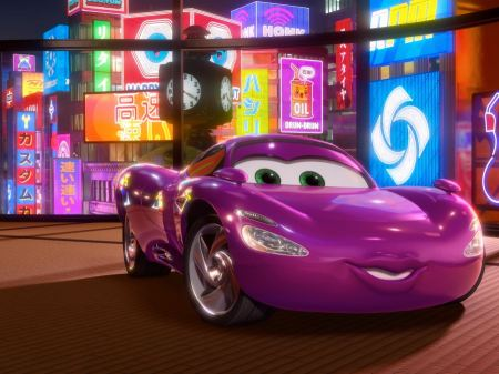 Free Holley Shiftwell in Cars 2