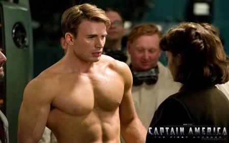 Free Captain America Scene Wallpaper