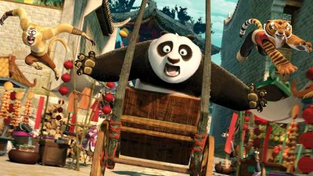 Free Kung Fu Panda 2 Monkey Po and Tigress