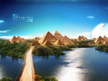 Free Pyramids of Utopia