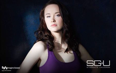 Free Elyse Levesque in Stargate Universe