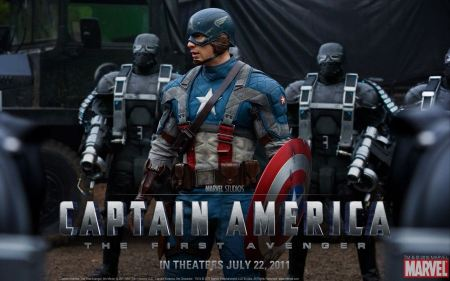 Free Captain America HD Poster