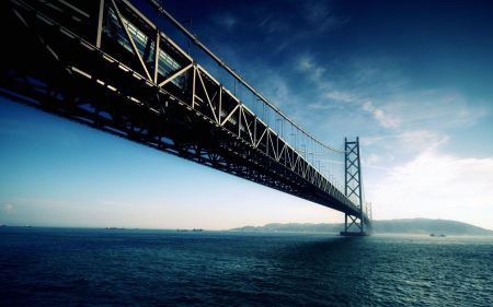 Free Akashi Kaikyo Bridge Japan