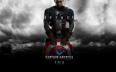 Free Captain America Poster