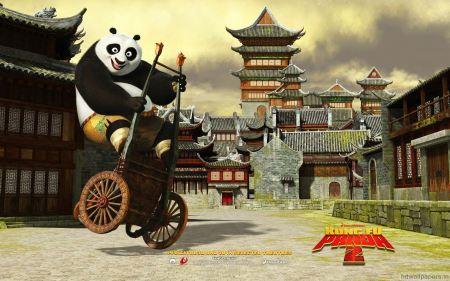 Free Po in Kung Fu Panda