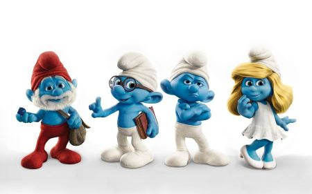 Free The Smurfs Characters