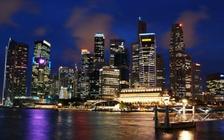Free Singapore Skyline