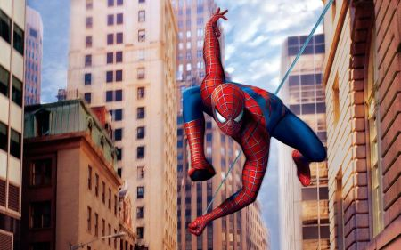 Free Spiderman Scaling New York City Buildings