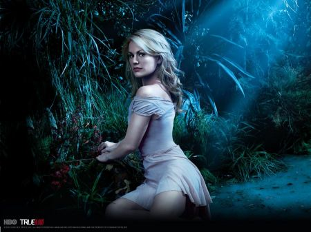 Free Anna Paquin in True Blood Wallpaper