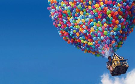 Free UP Movie Balloons House
