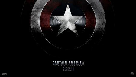 Free Captain America Shield Wallpaper