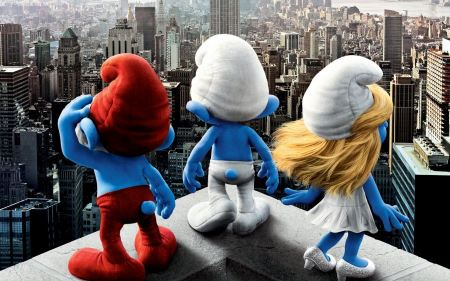 Free The Smurfs in New York