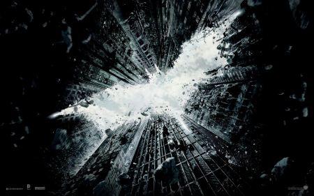 Free The Dark Knight Rises Skyscrapers Wallpaper