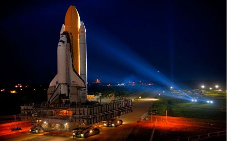 Free Space Shuttle Discovery