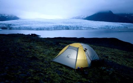 Free Camping in Iceland National Park