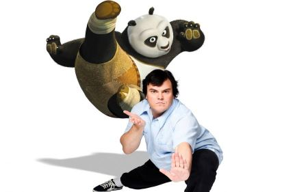 Free Jack Black as Panda in Kung Fu Panda