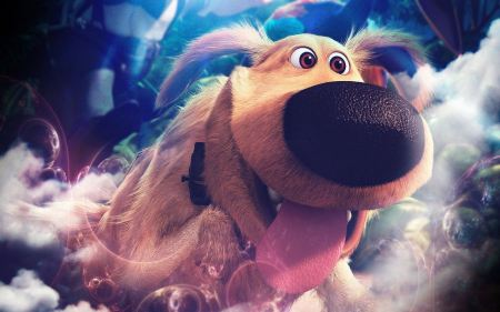 Free Dug the Dog from Up Wallpaper
