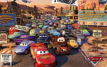 Free Cars Movie Characters