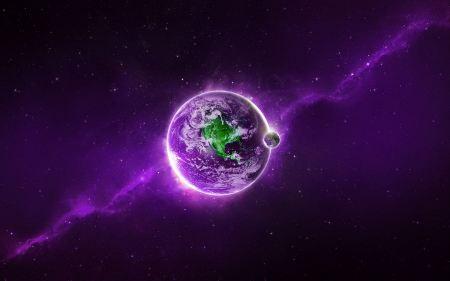 Free Purple Earth