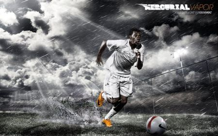 Free Dramatic Soccer Player