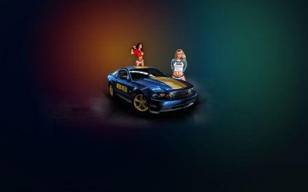 Free Mustang & Girls