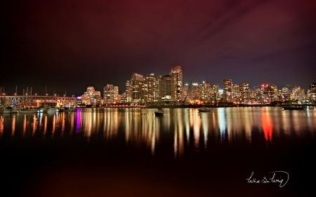 Free Vancouver City Nights