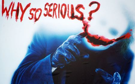 Free Why  So Serious Joker for The Dark Knight