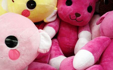 Free Colorful Stuffed Animals