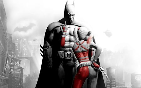 Free Batman and Harley Quinn
