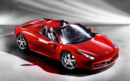 Free Ferrari 458 Spider 2012