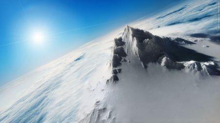 Free Snowy Mountain Peak