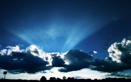 Free Dark Blue Sky