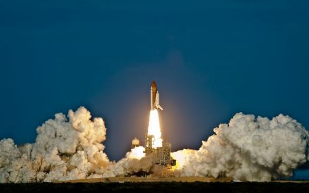 Free Space Shuttle Discovery Launch