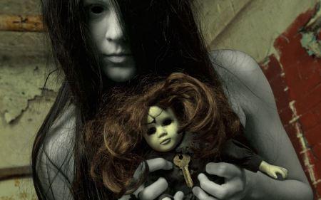 Free Creepy Ghost Girl