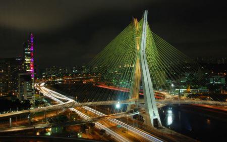 Free Octavio Frias de Oliveira Bridge