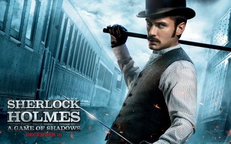 Free Jude Law as Dr. John Watson in Sherlock Holmes A Game of Shadows