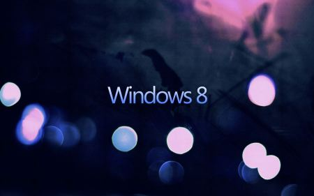 Free Dark Windows 8 Bokeh