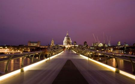 Free Millennium Bridge London