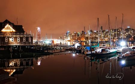 Free Vancouver Coal Harbour Nights