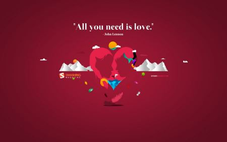 Free All You Need is Love