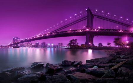 Free Manhattan Bridge New York City