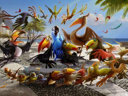 Free Birds in Rio