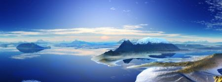 Free 3D Panoramic Landscape