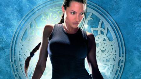 Free Angelina Jolie as Lara Croft Wallpaper