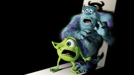 Free Monsters Inc Mike and Sully Wallpaper