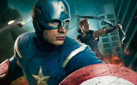 Free Captain America and Hawkeye Avengers