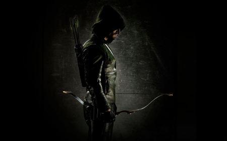 Free Green Arrow Dark Wallpaper