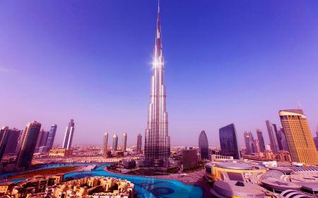 Free World's Tallest Tower Burj Khalifa