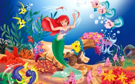 Free Disney's The Little Mermaid Characters